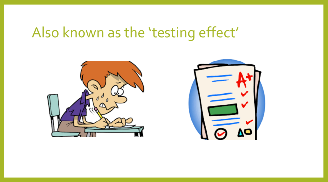 testing effect