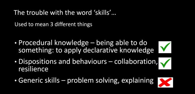 skills 3 ways